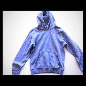 Nike SweatShirt Sports Fit Hoodie Grey
